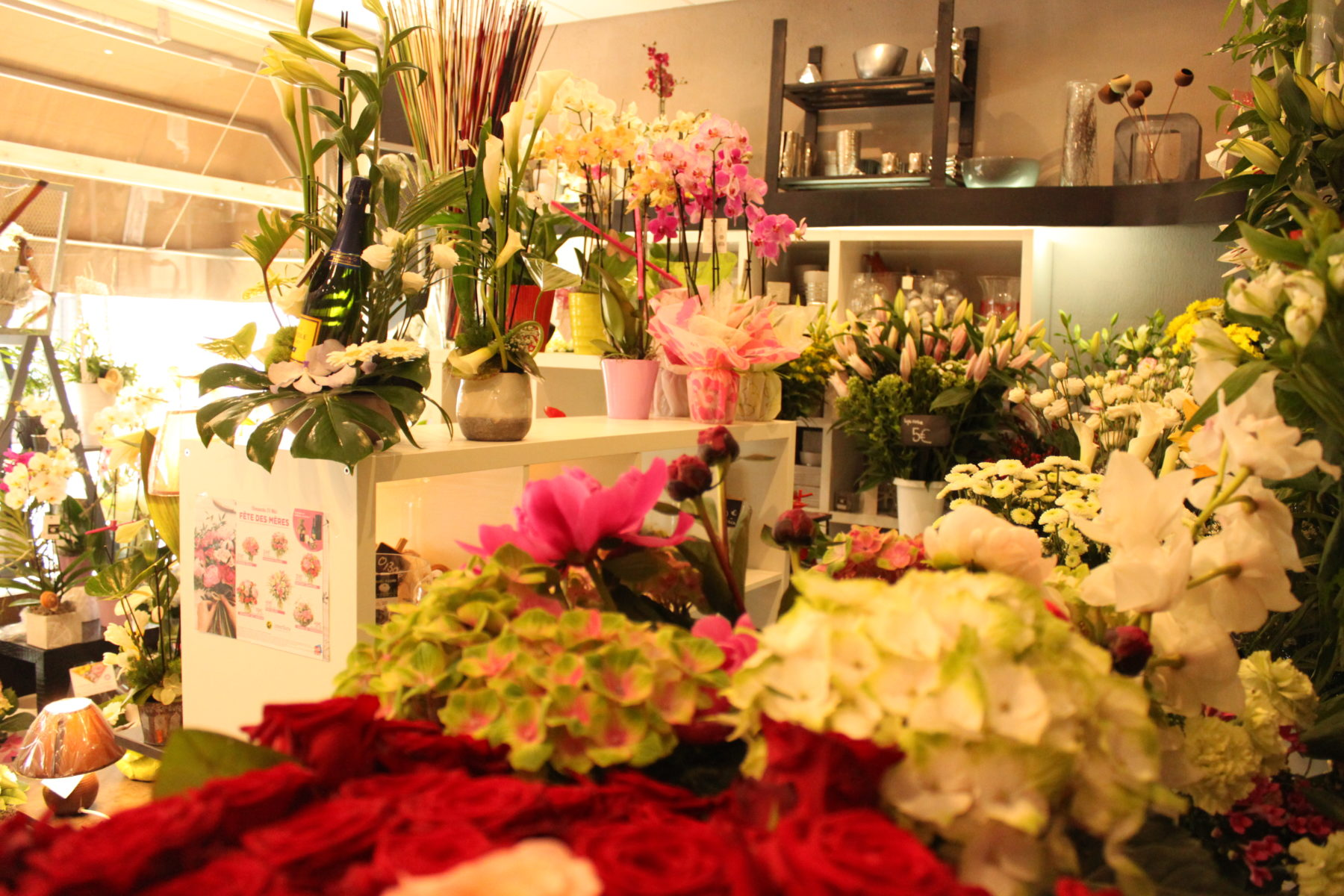 Compositions florales deuil